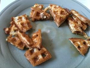 Buttermilk Waffles in Pieces - CookingCoOp.com