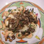 Shrimp and Grits with Red-Eye Gravy and Mushrooms - CookingCoOp.com