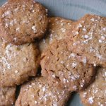 Brown Sugar Pecan Shortbread Cookies