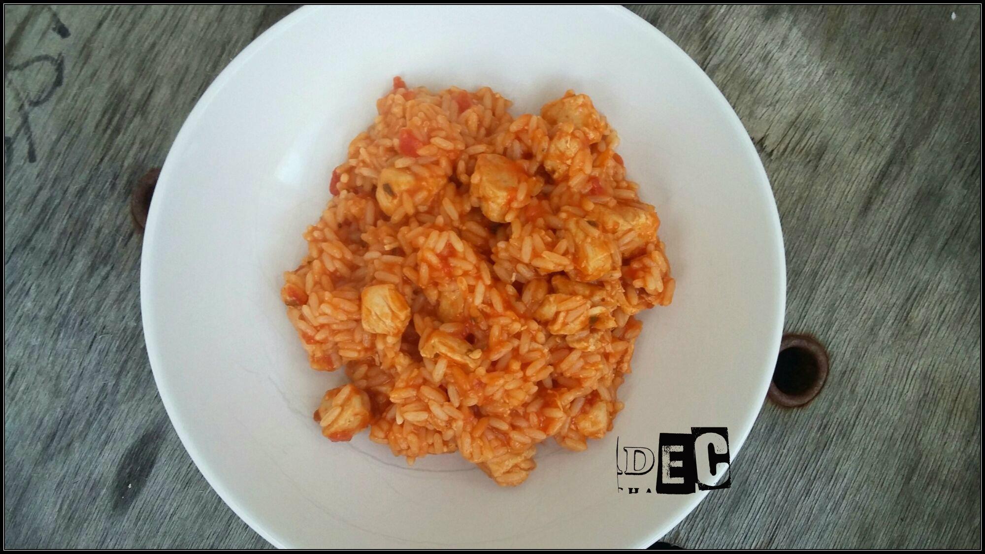 riz a la tomate poulet au cookeo