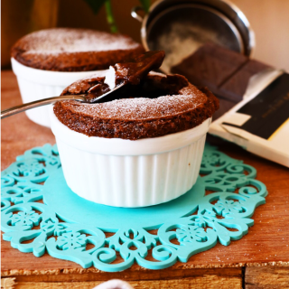 Dark Chocolate Lava Cake