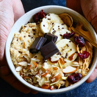 Chocolate Peanut Butter Oatmeal