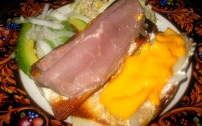 San Diego Cheese Steak Sandwich