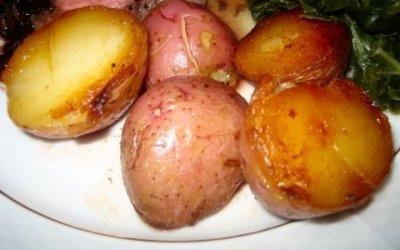 Pan Browned Red Potatoes