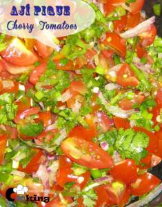 Aji Pique with Cherry-Tomatoes | Colombian Hot Pepper Salsa