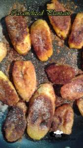 Caramelized Plantain with Cinnamon