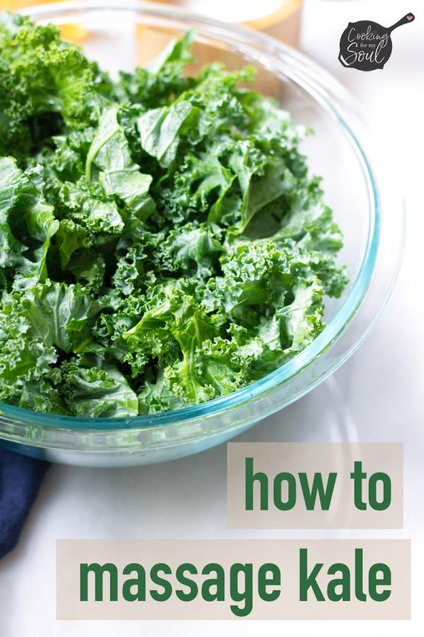 how to massage kale for salad