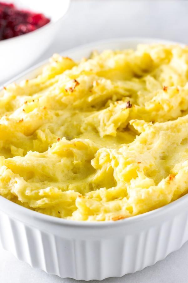 garlicky mashed potatoes