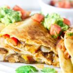 Mexican Chicken Quesadillas