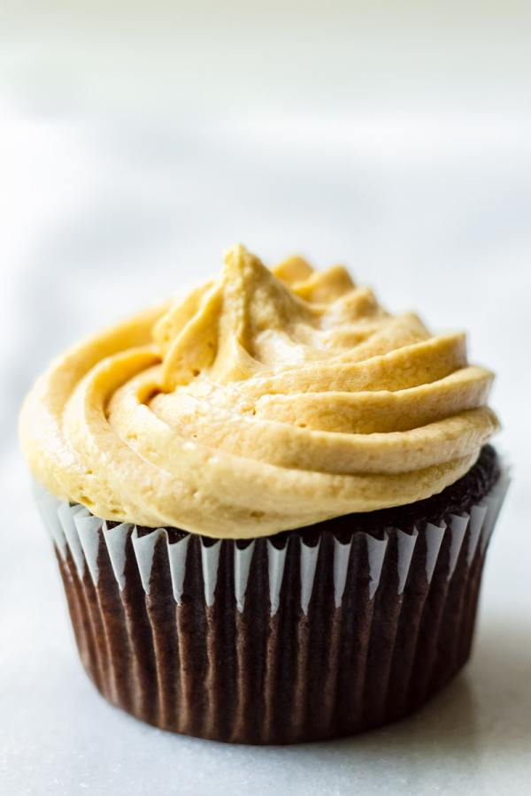 Single Chocolate Cupcake with Frosting