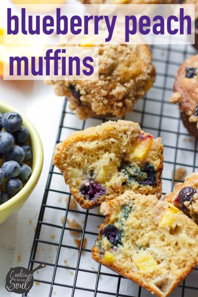 High Muffin Top Blueberry Muffins