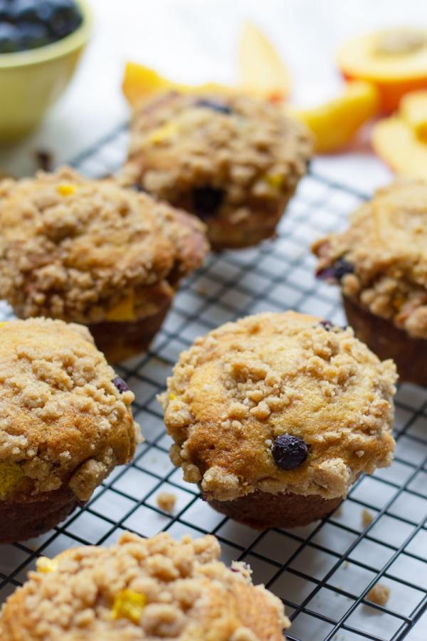High Top Blueberry Muffins