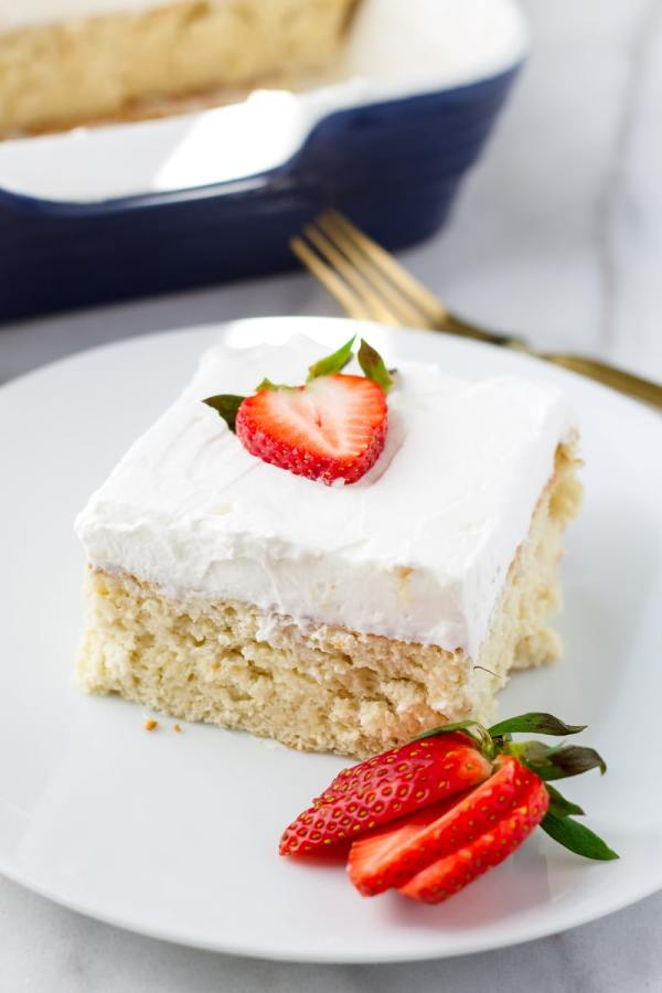 Berry Tres Leches Cake Recipe