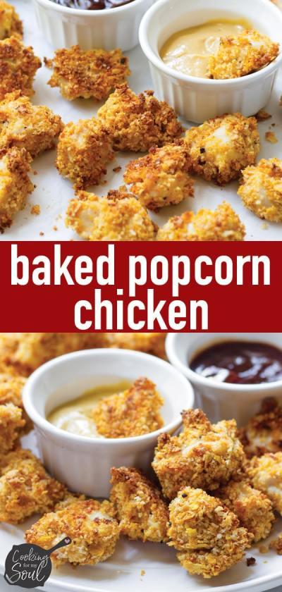Baked Popcorn Chicken Recipe