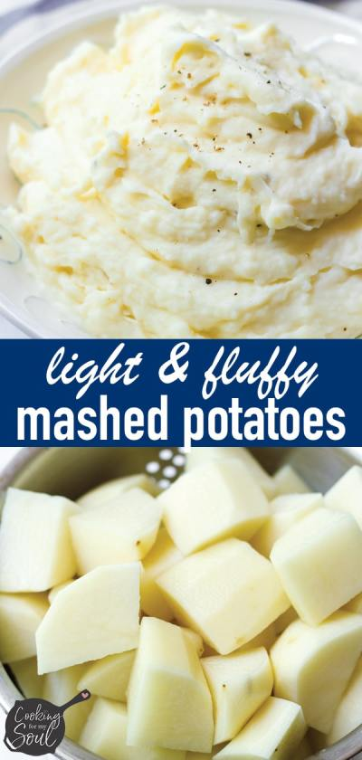 Super Light and Fluffy Mashed Potatoes Recipe
