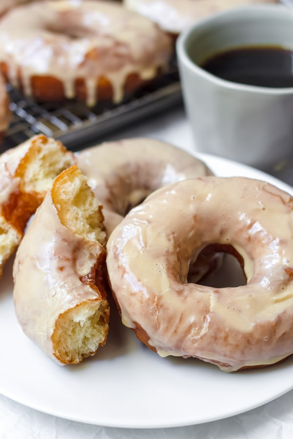 Recipe for Maple Glazed Donuts