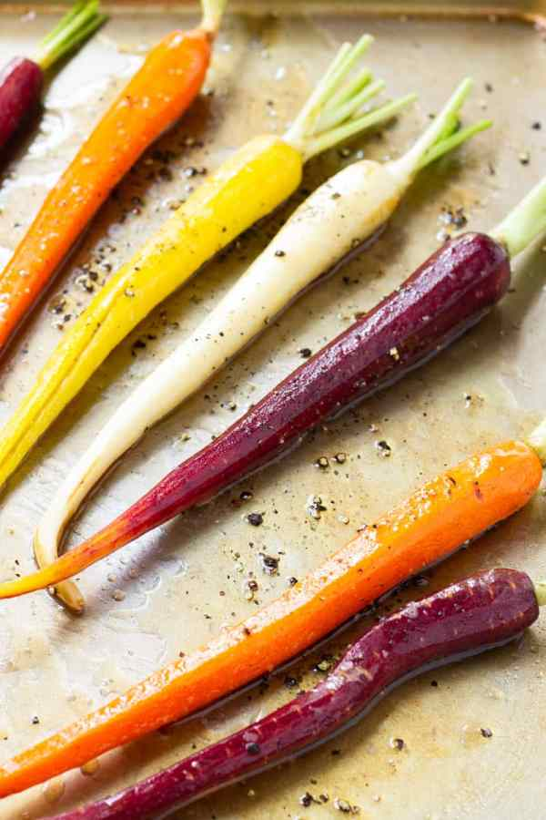 Sheet Pan Roasted Carrots