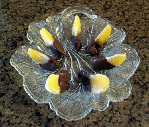Chocolate Dipped Oranges