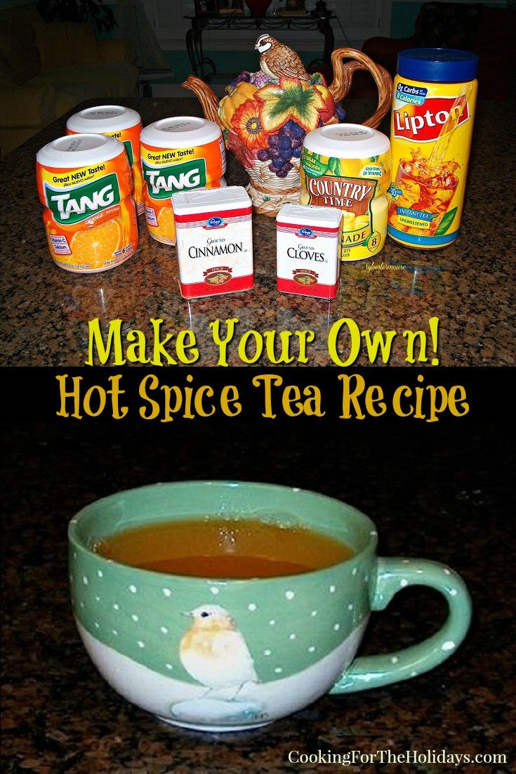 Hot Spice Tea Recipe
