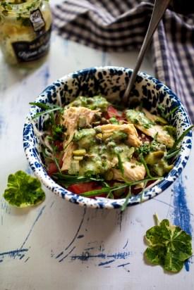 Tuna salad with salsa verde-8