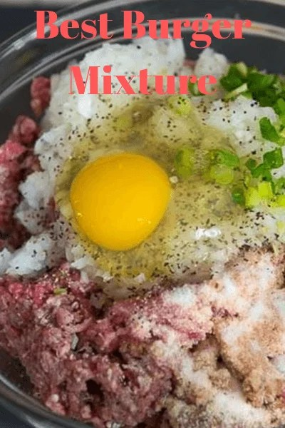 beef Burger Steak Mixture