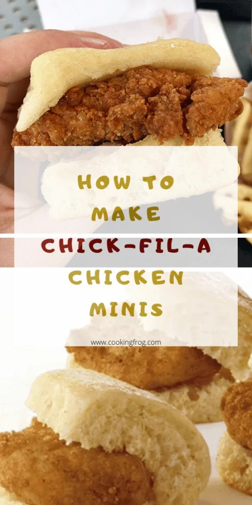 How to make Chick-fil-A Chicken Minis
