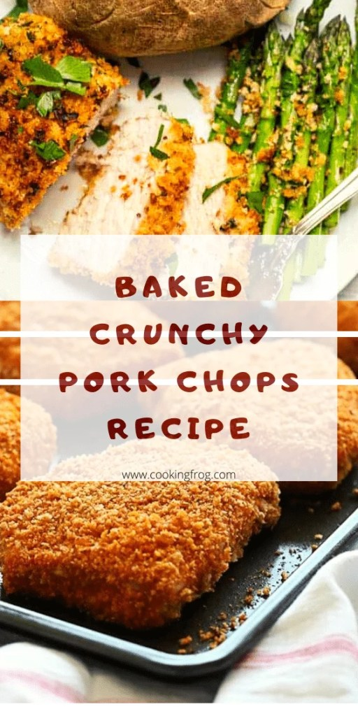 Baked and Crunchy Pork Chops Recipe