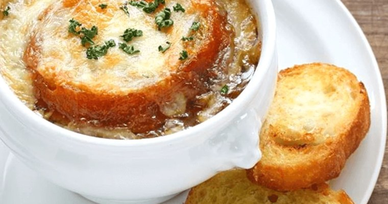 Healthy French Onion Soup for Cold
