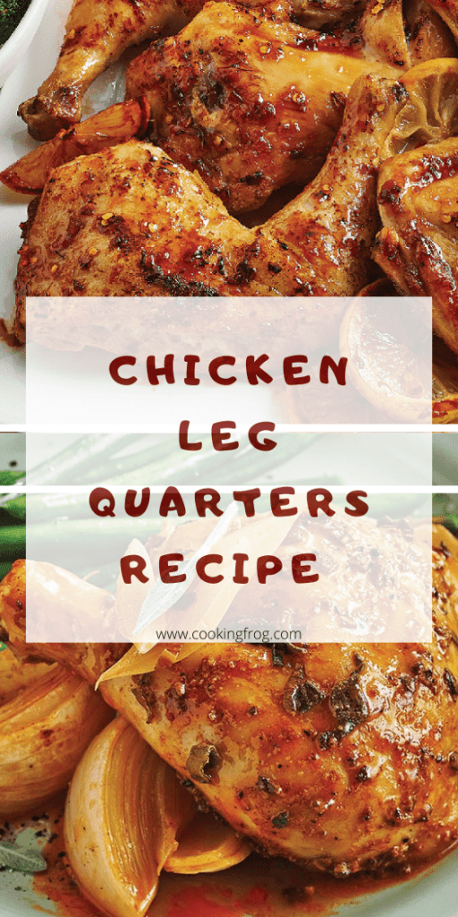 Chicken Leg Quarters Recipe Baked