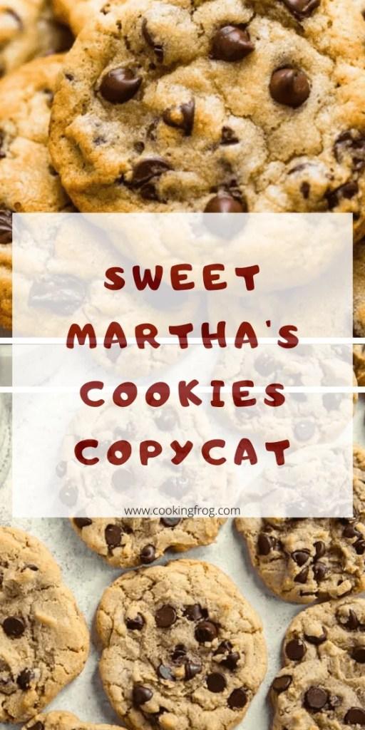 Sweet Martha's Cookies Copycat