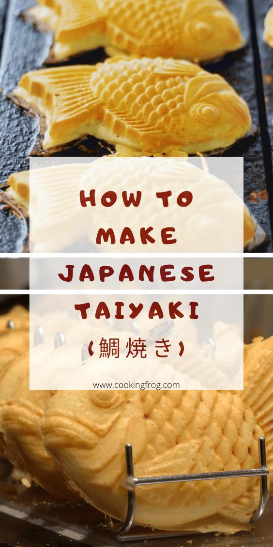 How to make Japanese Taiyaki