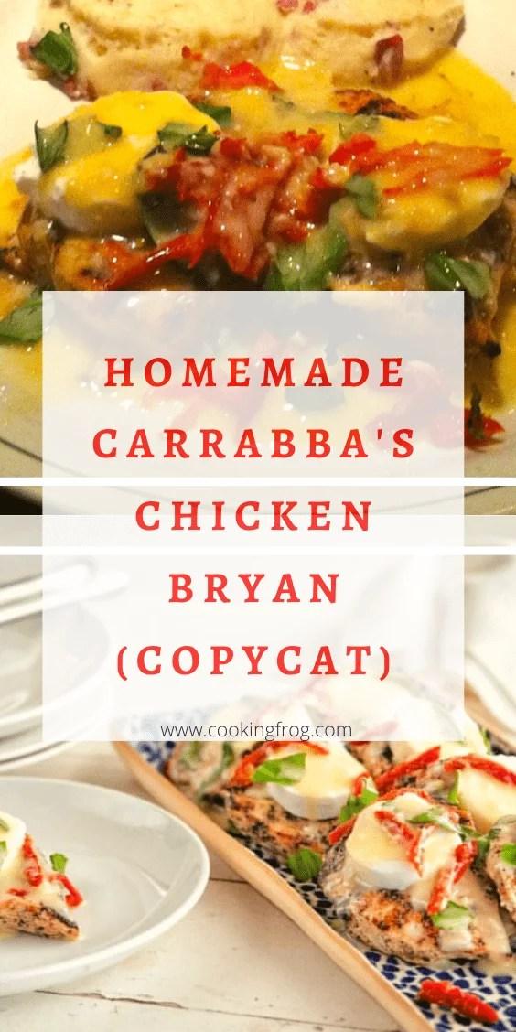 Homemade Carrabba's Chicken Bryan