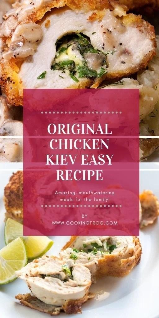 Original Chicken Kiev Easy Recipe