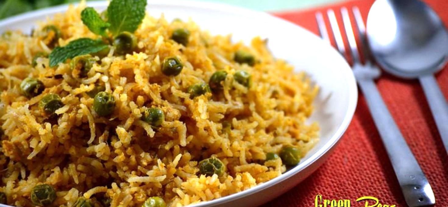 Green Peas Biryani | Matar Biryani | Sunday Biriyani Recipes
