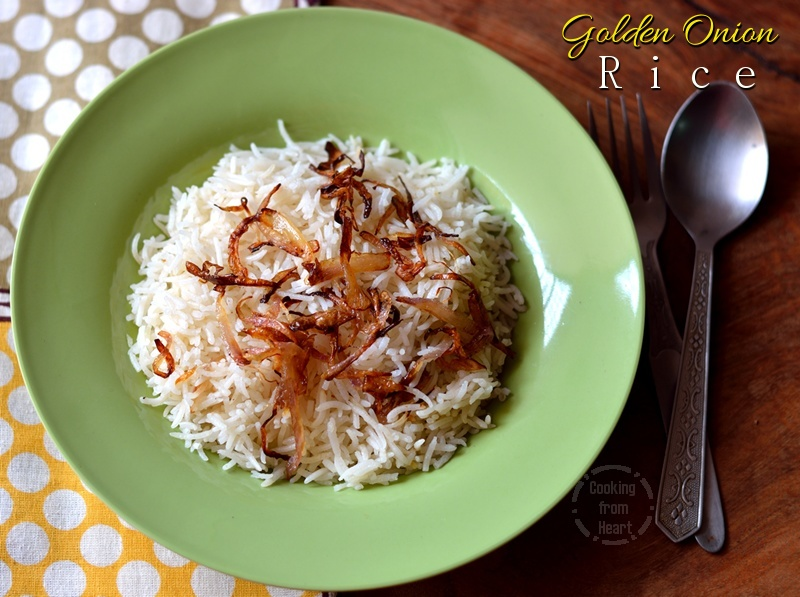 Golden Onion Rice 1-1