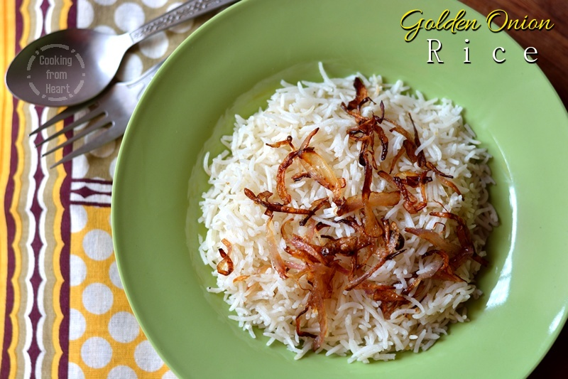 Golden Onion Rice 4-1