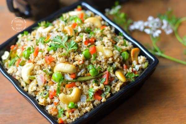 Vegetable Oats Upma