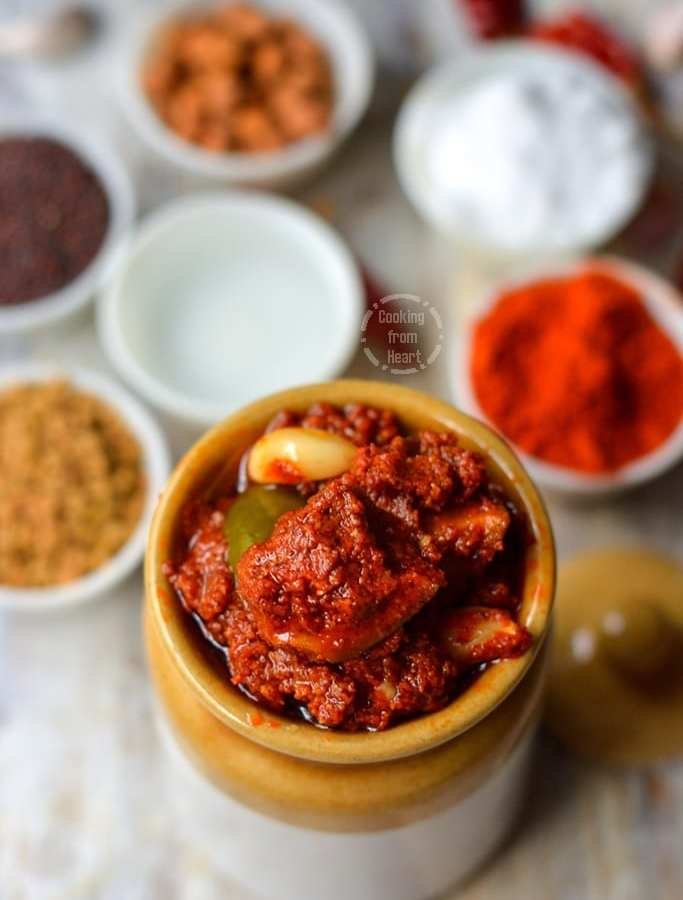 Avakaya Pickle | Mango Pickle