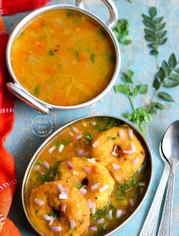 Sambar Vadai | Medu Vadai in Hotel Sambar Recipe