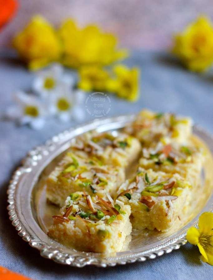 Kalakand | Easy Kalakand Recipe