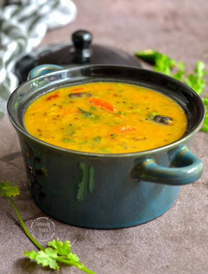 Khatti Meethi Dal | Gujarati Dal Recipe