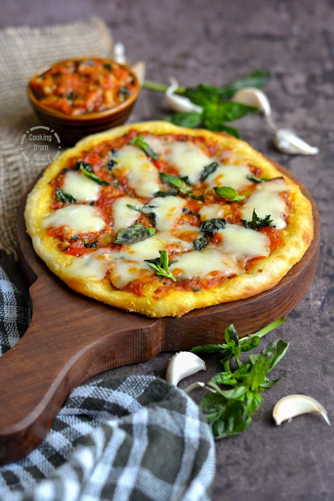 No Knead Slow Raise Margherita Pizza Recipe