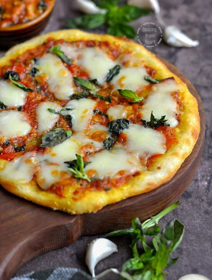 Slow Raise Margherita Pizza | No Knead Slow Raise Pizza Dough