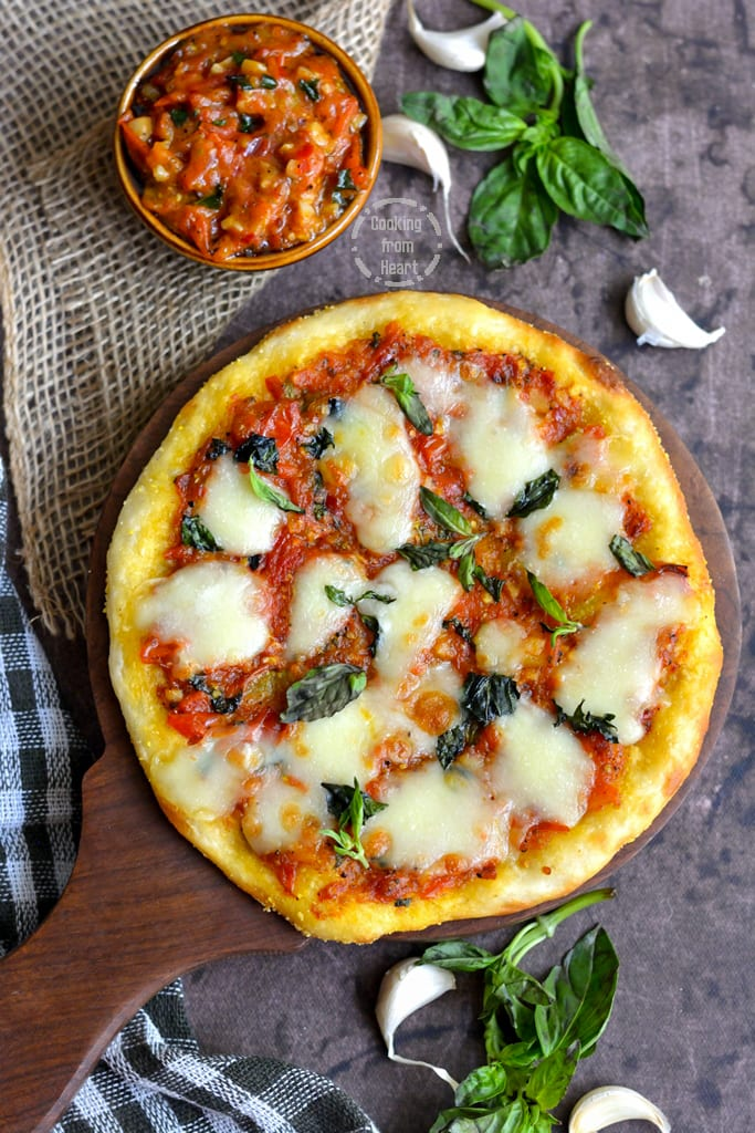 Slow Raise Matgherita Pizza