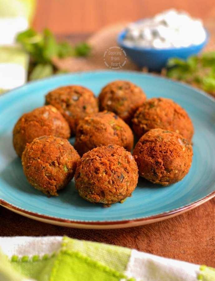 Low Calorie Crispy Falafel | Easy Falafel Recipe