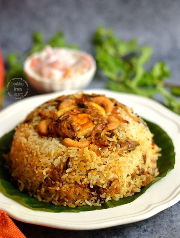Thalassery Egg Biriyani | Malabar Style Egg Roast Biriyani