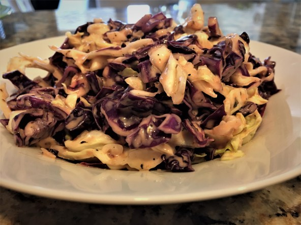 bbq cabbage salad