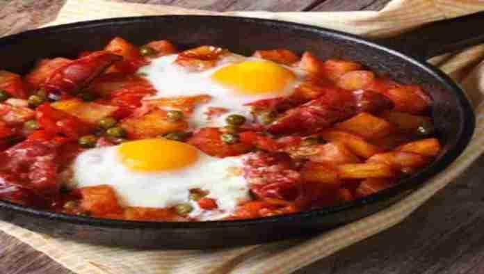 Portuguese-Breakfast-Skillet