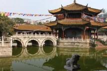 Yuantong Temple And Golden Kunming China