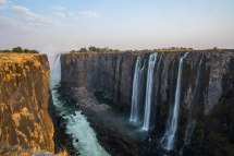 Victoria Falls In September Zimbabwe Cooking Tongues